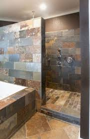 20 Fabulous Shower Bathroom Ideas That Steal Your Focus   Shower ... Slate Bathroom Wall Tiles Luxury Shower Door Idea Dark Floor Porcelain Tile Ideas Creative Decoration 30 Stunning Natural Stone And Pictures Demascole Painters Images Grey Modern Designs Mosaic Pattern Colors White Paint Looking Elegant Small Plans With Best For Bench Burlap Honey Decor Tropical With Wood Ceiling Travertine Pavers Bathroom Ideas From Pale Greys To Dark Picthostnet
