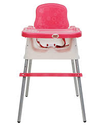 Buy LuvLap 4 In 1 Booster High Chair - Pink Online At Low Prices In ...