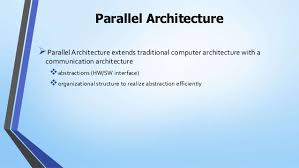 103 A Parallel Architecture Dedicated Fully Rchitecture
