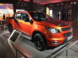 Chevrolet Colorado Pickup Revealed In India At 2016 Delhi Auto Expo ...