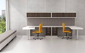 Workstation desk laminate contemporary mercial MODERN