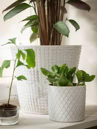 chiafrön cache pot blanc 9 cm ikea blumentopf design