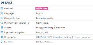 Camp Dresser Mckee International by Activity Monitoring Evaluation And Learning Plan Consultant
