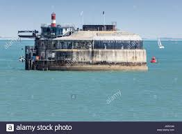100 Spitbank Fort In The Solent Off Portsmouth Harbour The