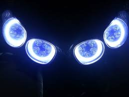 sportbike lites led headlight bulb conversion kit with 5 led