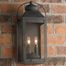 outdoor lighting wall lights sconces lanterns shades of light