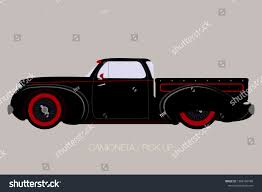 Custom Pick Up Old School Car Stock Vector (Royalty Free) 1208104798 ...