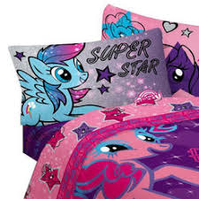 my little pony twin bedding set