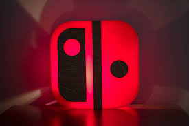 Mario Question Mark Block Hanging Lamp by Nintendo Switch Lamp End Table Or Wall Mountable
