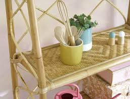 regal aus rattan und bambus maisons du monde