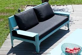 canapé de jardin 2 places canapé de jardin 2 places design confortable hegoa par matière