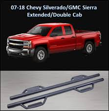 100 65 Gmc Truck Amazoncom CONEXT Hoop Style Dropped Steps Textured Nerf Bars For