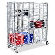 Carts Rolling Storage Push In Stock