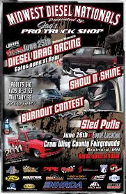 Midwest Diesel Nationals, June 25th And 26th, Brainerd Int'l Raceway ...