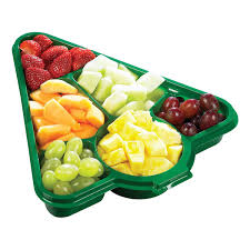 Fresh To Go Christmas Tree Fruit Platter Metro