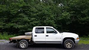 My 2003 Crew Cab Dodge Dakota, Built The Flatbed This Past Spring ...