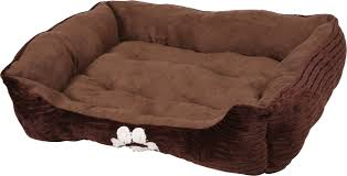 Cuddler Dog Bed by Happycare Textiles Reversible Rectangle Dog U0026 Cat Bed Medium