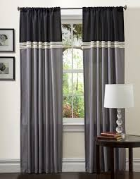 White And Gray Curtains Target by Decoration Awesome Target Curtain Panels With Redoubtable Pattern