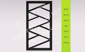 zemez privacy screen dxf svg eps ready to cut file cnc template