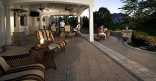 stunning pavers for rustic and traditional outdoor kitchens in
