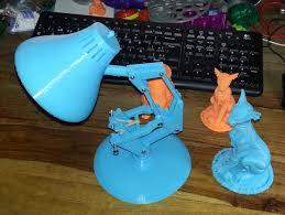 Luxo Jr Lamp Model by Pixar U0027s Luxo Jr By Renatot