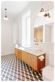 metro bath and tile floor decoration ideas