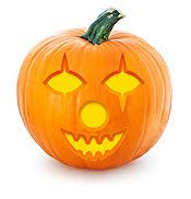 Clown Pumpkin Template by 15 Free Printable Pumpkin Carving Stencils Party Delights
