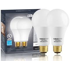modern style 3 way 40 60 100w equivalent led a21 light bulb