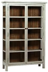Pulaski Display Cabinet Vitrine by Dovetail Furniture Dovetail Anna Vitrine Display Cabinet
