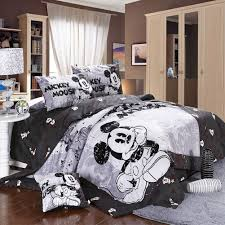 Minnie Mouse Bedding by Amazon Com Mickey Minnie Mouse Bedding Set Queen King Size Flat