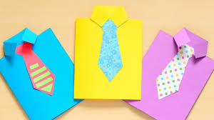 How To Make A Fathers Day Shirt Card
