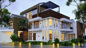 100 House Architect Design Private 114 Tropical Modern Style By Emporio