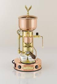 Copper Espresso Machine Cappuccino