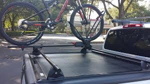 Thule Aero Bars Mounted On Truck Bed - Nissan Frontier Forum Home Made Bike Rack Compatible With Undcover Tonneau Cover Mtbrcom Thule Locking Low Rider Truck Bed Bike Rack Evo Best 25 Racks For Trucks Ideas On Pinterest Pvc Biker Bar Full Size Diy Over Kuat Dirtbag Mount Competive Cyclist New Truck Best Method To Carry Sold Diamondback Tonneau Sale Sb 052015 Se Model Irton Steel Hitch Mounted 4 120 Lb Capacity Ebay Front Bicycle Basket For Rail Diy Meet The Bikemobile Rkp 4bike Universal By Apex Discount Ramps