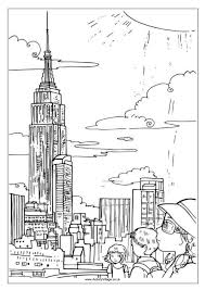 Amazing New York City Coloring Pages Color Book Ideas For You