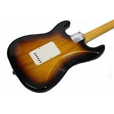 Fender Custom Shop 62 Stratocaster Relic Ash Body 2 Tone Sunburst
