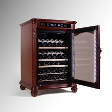 vinbro european wine cabinet cooler hand carving http www