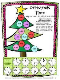 Christmas Math Games Second Grade Fun Activities