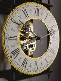 mechanische skelettuhr wanduhr klassisch pendeluhren rund