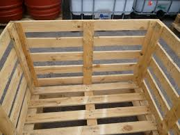 68cm High Wooden Crate