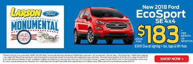 100 Larson Truck Sales Specials Ford Dealer Lakewood NJ Ford