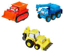 100 Bob The Builder Trucks Buy Set Of 3 FisherPrice The Pull Back Vehicles