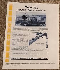 100 Tow Truck Austin 1958 Ernest Holmes 330 Junior Wrecker Tow Truck Sales Brochure 2