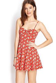 red floral dress cocktail dresses 2016