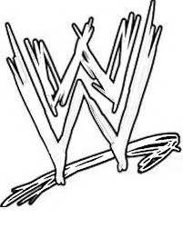 Print WWE Coloring Pages