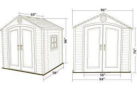 Lifetime 15x8 Shed Uk by Garden Sheds 8 X 5 Interior Design