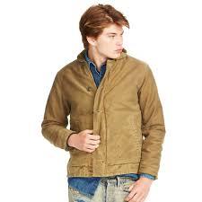 denim u0026 supply ralph lauren corduroy jacket in natural for men lyst