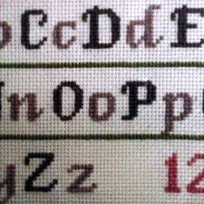 cs1 Fancy Alphabet — Wonderful Stitches