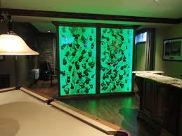 aquarium dans le mur grand format murs d eau et de bulles