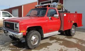 100 1989 Gmc Truck GMC Sierra 3500 SL Brush Fire Truck Item DE0001 Tue